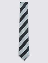 Limited Edition Pure Silk Striped Tie
