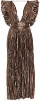 Ulla Johnson Donna French Silk-Lamé Dress