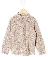 Bonpoint Boys' Floral Print Shirt