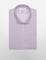 Calvin Klein Steel Slim Fit Non-Iron Chandelier Dress Shirt
