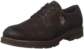 U.S. Polo Assn. Syd Suede, Men's Oxford Shoes, Brown (Dark Brown DKBR), (41 EU)