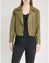 Paige Sivan leather jacket