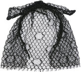 Maison Michel mesh bow hair band - women - Polyester - One Size