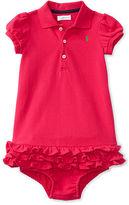 Ralph Lauren Stretch Polo Dress & Bloomer