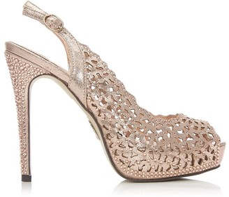 Moda In Pelle Justine Rose Gold Textile