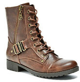 G by Guess GByGUESS Women's Brookey Combat Boots