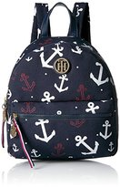 Tommy Hilfiger Women's Th Falling Anchors Dome Backpack