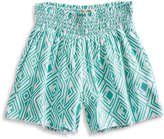 Lucky Brand Cali Smocked Short