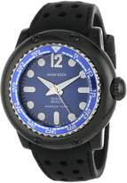 Glam Rock Men's MB26015 Miami Beach Rescue Team Dial Black Silicone Watch