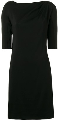 Lanvin Piped Seam Shift Dress