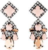 Shourouk Square Boogie Drop Earrings
