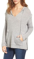 Velvet by Graham & Spencer Women's Hooded Cashmere Sweater