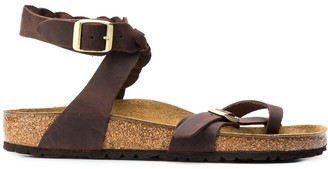 Birkenstock Braided Cork Sole Sandals