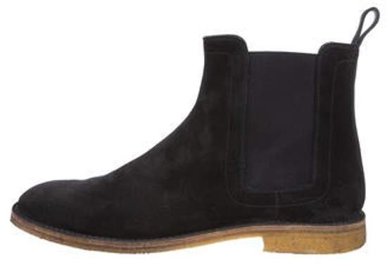 5a283a8a7e5 Suede Crepe Chelsea Boots navy Suede Crepe Chelsea Boots