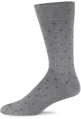 Marcoliani Milano Polka Dot Modal Socks