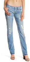 True Religion Billie Released Hem Super T Straight Jean