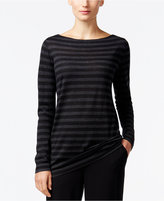 Eileen Fisher Wool Striped Sweater