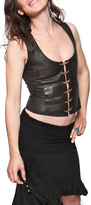 Sundari Leather Vest