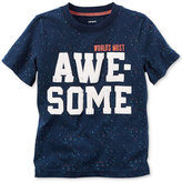 Carter's Graphic-Print T-Shirt, Toddler Boys (2T-4T)