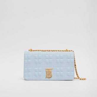 Burberry Small Quilted Tri-tone Lambskin Lola Bag