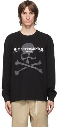Mastermind Japan Black Reflective Long Sleeve T-Shirt