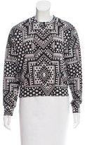 Mara Hoffman Abstract Print Sweater