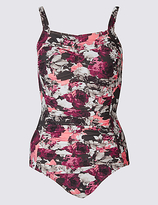 M&S Collection Post Surgery Secret SlimmingTM Floral Print Swimsuit