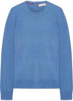Tory Burch Iberia Cashmere Sweater - Blue