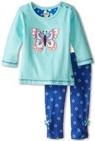 Hatley Long Sleeve Tee & Leggings Set - Icy Butterflies (Infant)