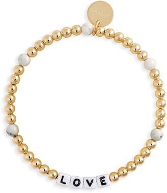 Little Words Project Love Beaded Stretch Bracelet