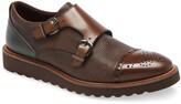 Ike Behar Monza Monk Strap Shoe