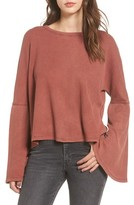 BP Women's Washed Bell Sleeve Tee