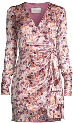 Alexis Kari Floral Wrap Dress