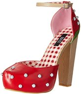 Iron Fist Women's Strawberry Lips Platform Dress Pump