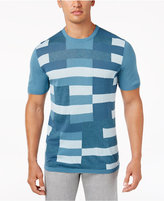 Alfani Men's Colorblocked Sweater Tee-Shirt, Only at Macy's
