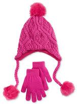 Berkshire Girls' 2-Pc. Heidi Hat & Gloves Set