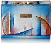 Anuschka Hand Painted Rfid Blocking Small Flap French Wallet Northern Skies Wallet