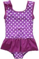 BeautyIn Baby Girls Swimwear Halter Two Piece Suit Cute Ruffle Bathing Suit