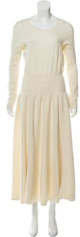 Chanel Wool Sweater Dress