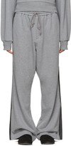 Juun.J Grey Wide-leg Lounge Pants