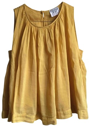 Forte Forte Yellow Cotton Top for Women