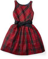Ralph Lauren Tartan Taffeta Dress