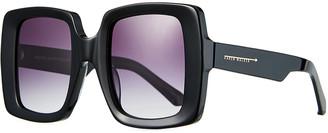 Karen Walker Isadore Square Acetate Sunglasses