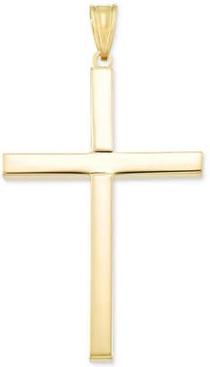 Italian Gold Cross Pendant in 14k Gold