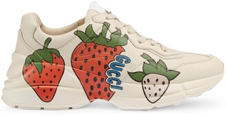 Gucci Rhyton strawberry sneakers