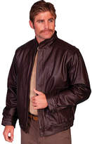 Scully Zip Front Leather Jacket 977 Long (Men's)