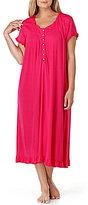 Eileen West Plus Ruffled Waltz Nightgown