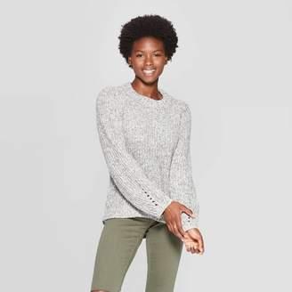 Universal Thread Women's Chunky Crew Neck Pullover Sweater - Universal ThreadTM