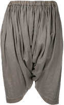 Comme des Garcons draped cropped trousers