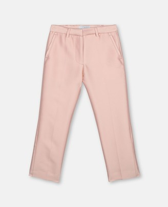 Stella McCartney mini me cotton-silk suit trousers